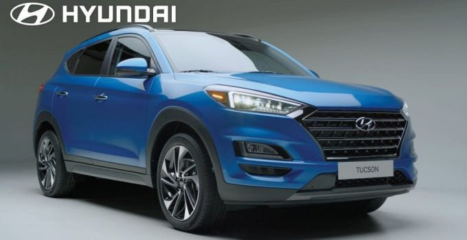 The 2021 Hyundai Tucson Exterior